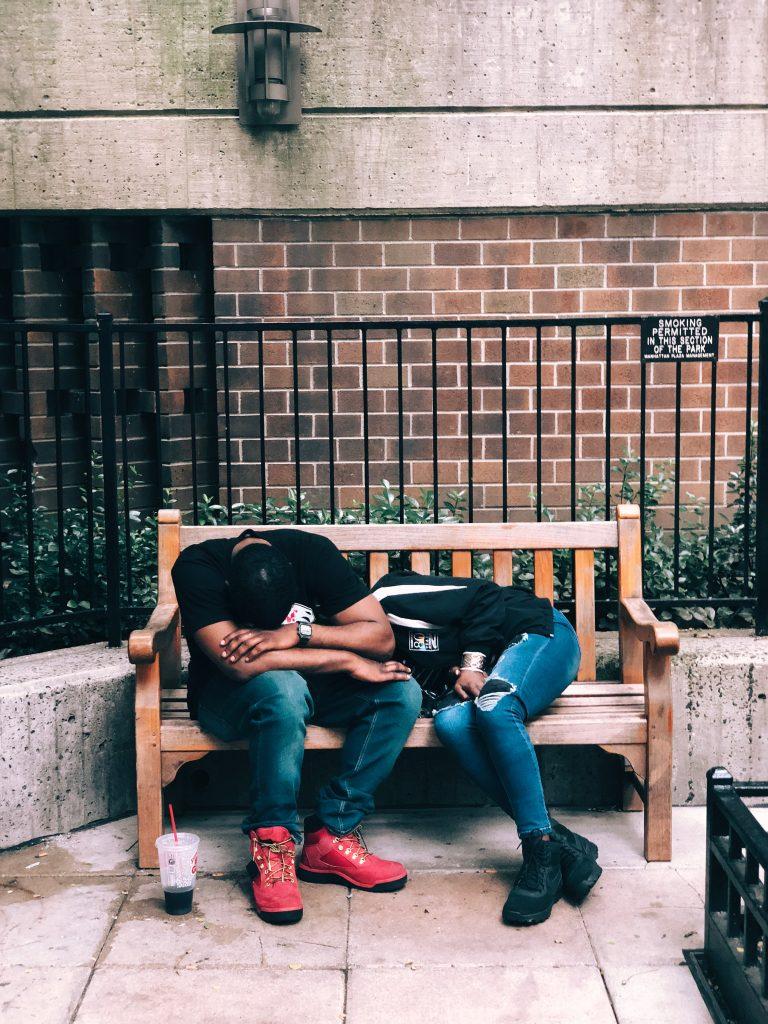 Jugendliche müde