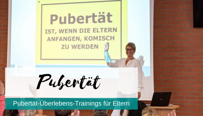 Pubertät-Überlebens-Training